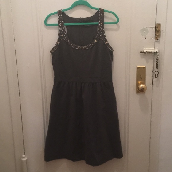 Cynthia Rowley Dresses & Skirts - Gray dress 👗 with studs